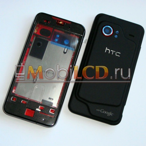 Корпус для HTC Incredible черный (в сборе) - Original