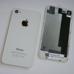 Корпус (Задняя часть крышка, белая) для Apple iPhone 4S
